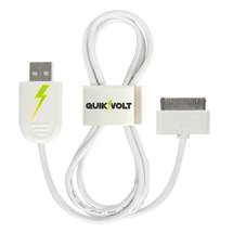 30-Pin USB Cable w/ QuikClip