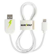 Lightning USB Cable w/ QuikClip
