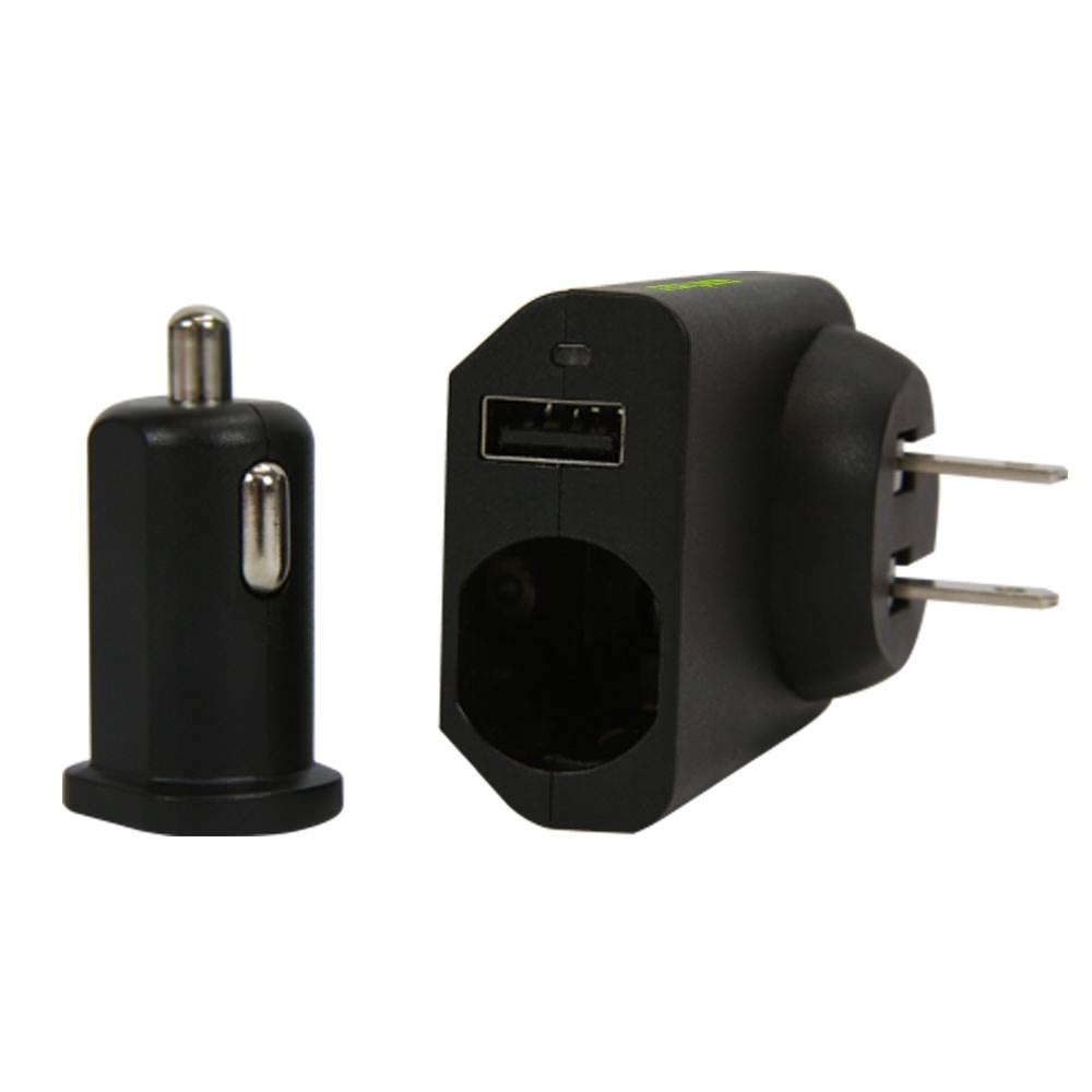 Wp 210 2 In 1 Car Wall Charger Combo